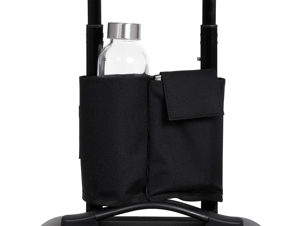 Norländer Trolley Bottle Sleeve 600D-zwart