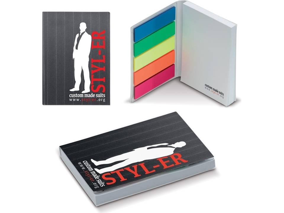 Notitieboek met flexibele kaft bedrukken