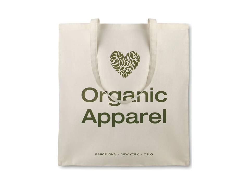Organische katoenen boodschappentas