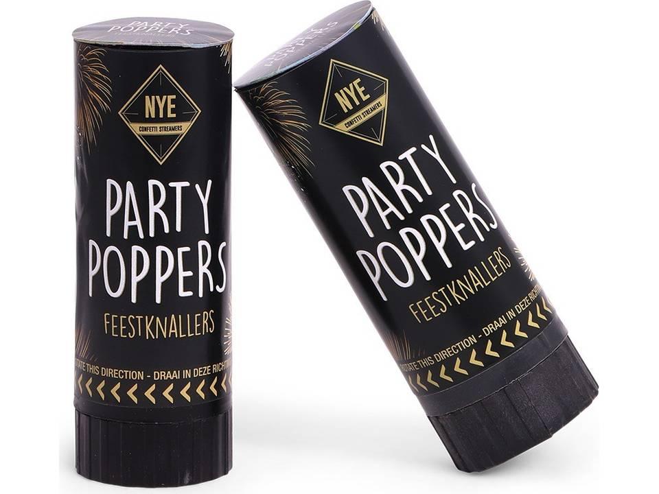 Party Popper Set bedrukken