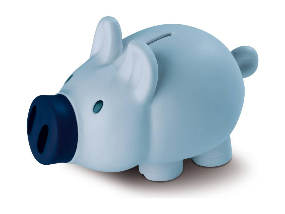 piggy blauw