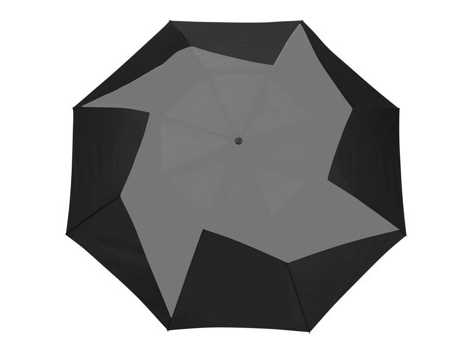 Pinwheel 23'' 2 sectie automatische paraplu bedrukken
