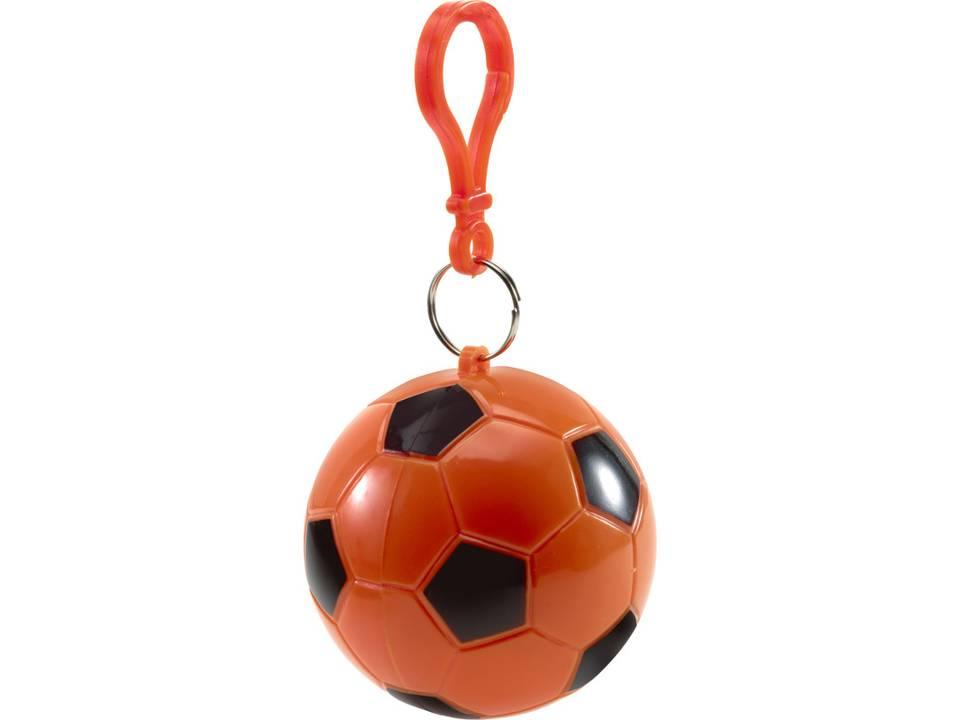 Poncho voetbal bedrukt