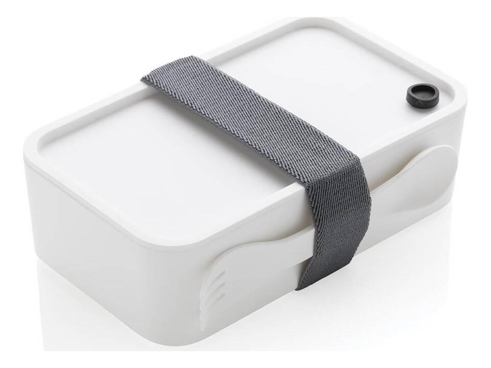 PP Lunchbox met Spork-wit