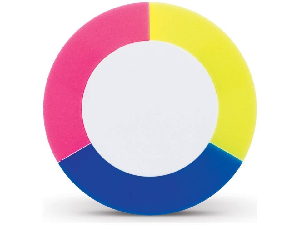 Puck highlighter tekstmarker blauw