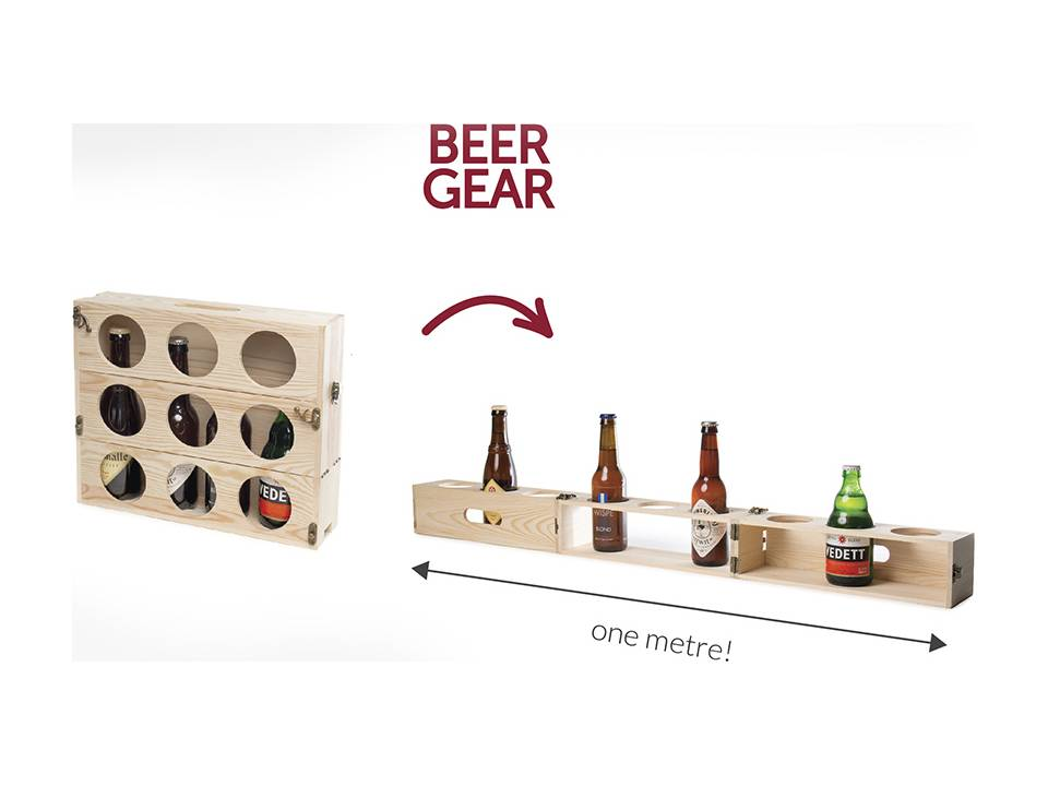 Rackpack Beer Gear relatiegeschenken