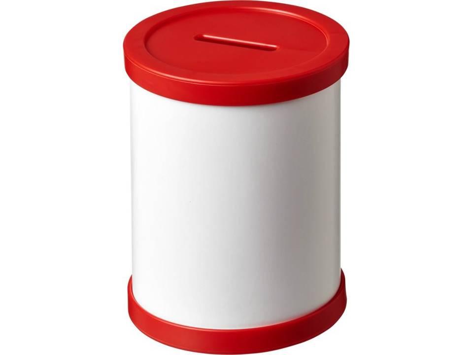 Rafi ronde spaarpot collectebus