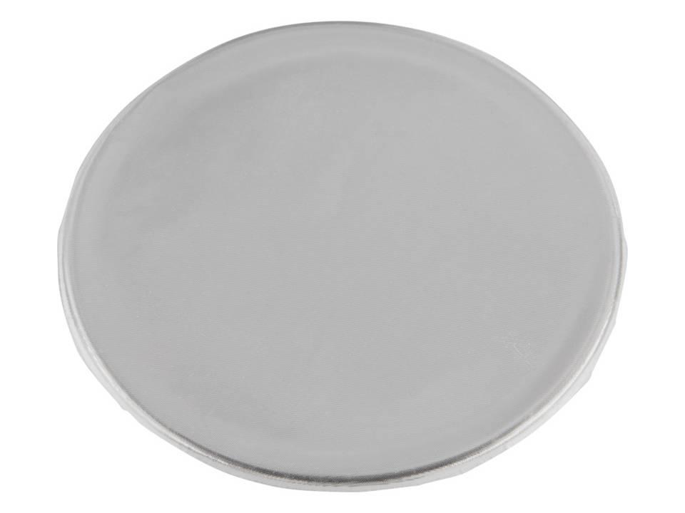 Reflecterende sticker rond medium-wit