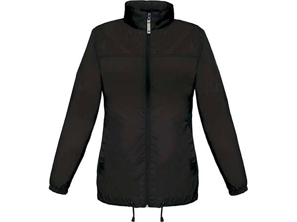Sirocco Jack - opvouwbare jasje in jaszak vrouwen zwart