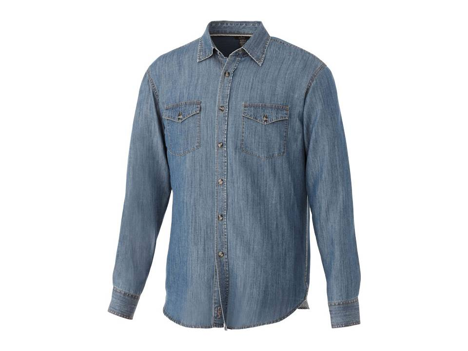 Sloan Denim shirt bedrukken