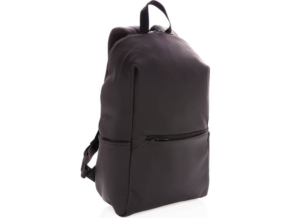 "Smooth PU 15.6"" laptop rugzak PVC-vrij"