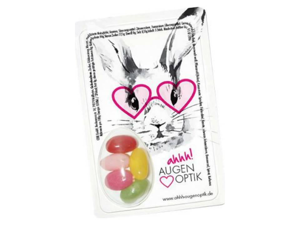 Sweetcard met jellybeans