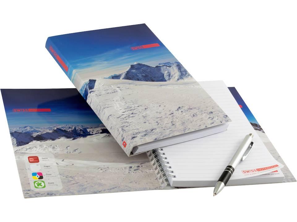 Swiss Notebook bedrukken