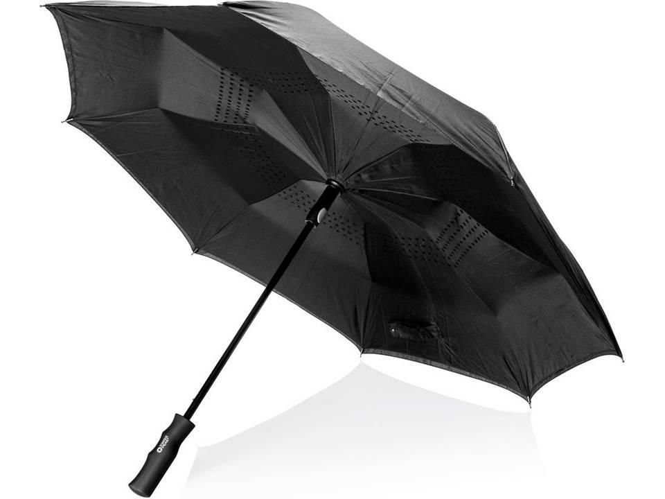Swiss Peak auto omkeerbare paraplu - Ø105 cm