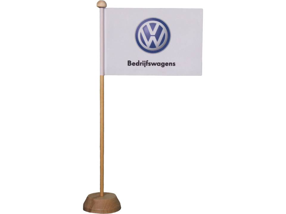 Tafelvlag met houten standaard 10 x 15 cm