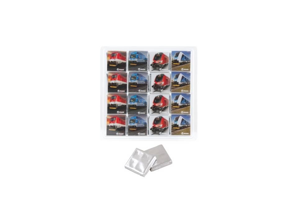 Transparante box 16 x 5 gr