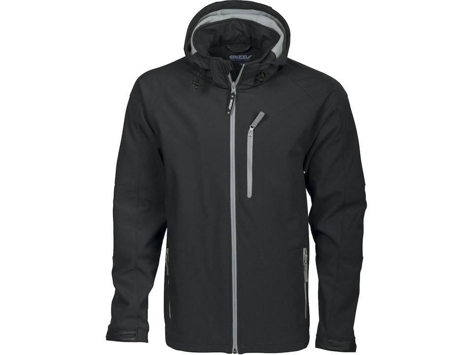 Tulsa Softshell jas zwart