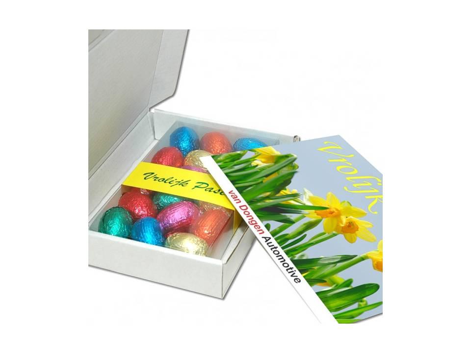 Verzenddoos 150 gram luxe eitjes