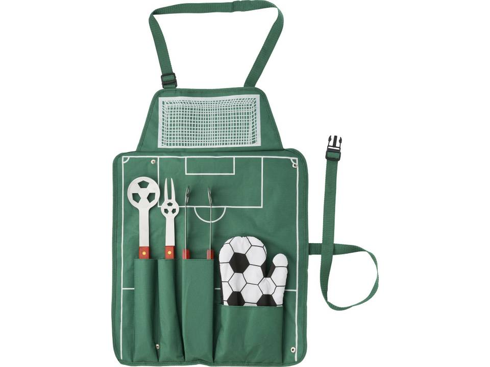 Voetbal Barbecue set