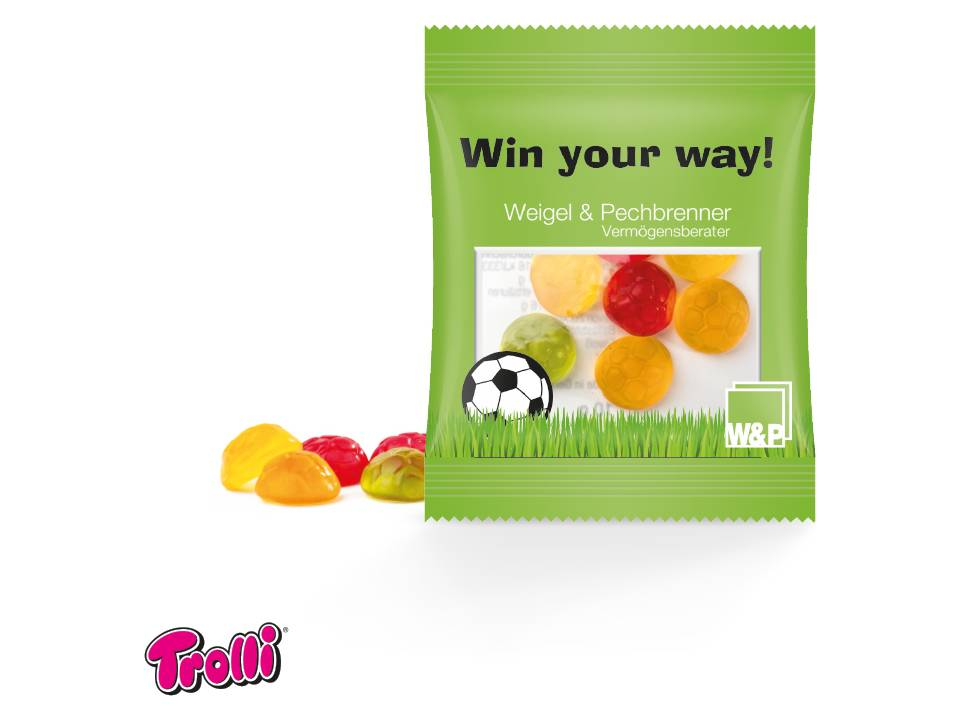 Voetbal jelly gums