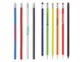 Saba pencil with rubber Peekay 11