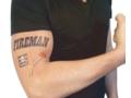 Fun tattoo large