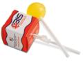 Lollipop in square box printed allover