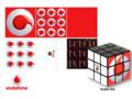 Rubik's Kubus 3x3 Sleutelhanger 7