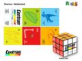 Porte clés Rubik's Cube 4