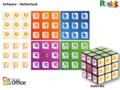 Rubik's Kubus 3x3 Sleutelhanger 5