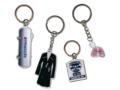 Printed metal keychains