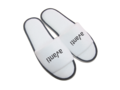 Pair of slippers, open toe