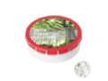 Super round Click container with Sugarfree mints 1