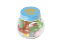 Mini candy jar filled with jelly beans 1