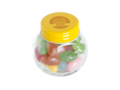 Mini candy jar filled with jelly beans 6