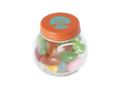 Mini candy jar filled with jelly beans 7