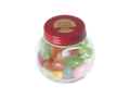 Mini candy jar filled with jelly beans 5