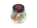 Mini candy jar filled with jelly beans