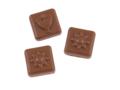 Adventskalender A4 - met eigen omslag en 24 Callebaut chocolaatjes 1