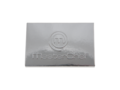 Credit card chocolate bar with embossing 5