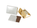 Credit card chocolate bar with embossing 1