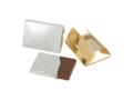 Barre de chocolat carte de crédit avec gaufrage 1