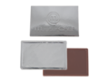 Credit card chocolate bar with embossing 4