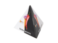 10 Pyramid tea bags in pyramid paper box 2