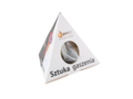 10 Pyramid tea bags in pyramid paper box 1