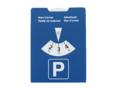 Disque de stationnement carton