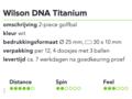 Wilson DNA Titanium 1
