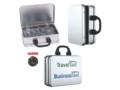 Suitcase tin with Haribo liquorice coins