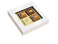 Doosje logo chocolade 1
