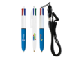 Bic 4 Colours Mini with Lanyard 1